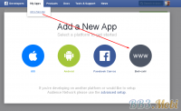 App id, Secret Key, Public Key - Получение данных для API - Facebook new app.png